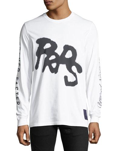 Men's Puma X PRPS Graphic Long-Sleeve T-Shirt
