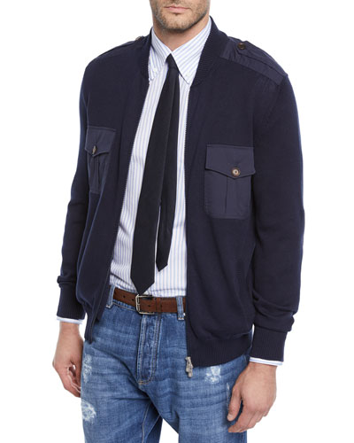 Men's Full-Zip Cardigan