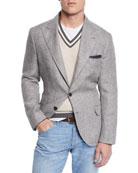 Brunello Cucinelli Men's Houndstooth Sport Jacket