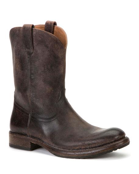 Frye Men's Duke Roper Western Leather Boots