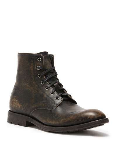 Men's Bowery Leather Lace-Up Boots