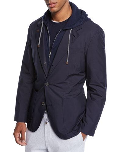 Men's Nylon Blazer