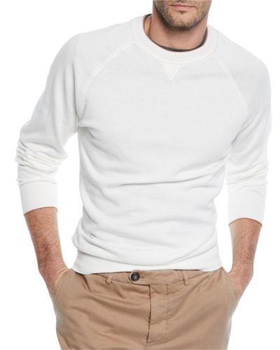 Men's Raglan Pullover Sweater