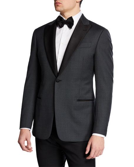 Emporio Armani Men's Diamond Tuxedo Jacket