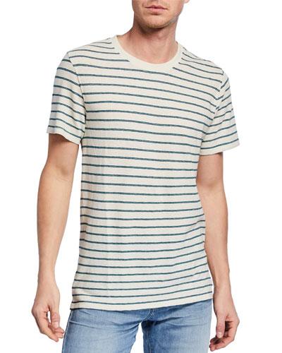 Men's Striped Boxer T-Shirt