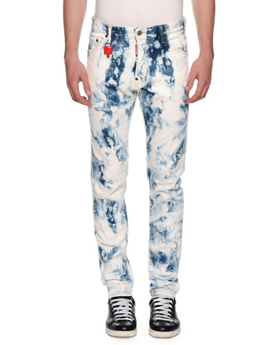 Men's Cool Guy Bleach-Wash Jeans