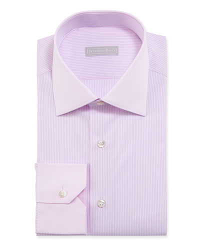 Men's Hairline Stripe Dress Shirt
