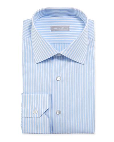Men's Candy Stripe Dress Shirt