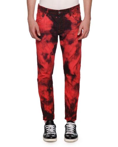 Men's Tie-Dye Skater Jeans