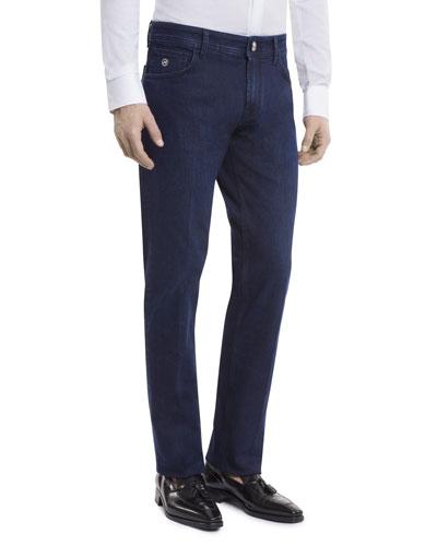Men's Straight-Leg Denim Jeans