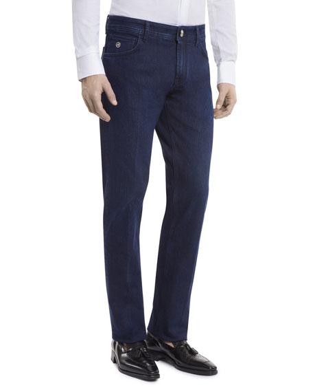 Stefano Ricci Men's Straight-Leg Denim Jeans