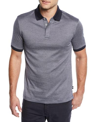 Men's Neat Geo Polo Shirt