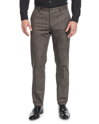 Men's Straight-Leg Felt Pants