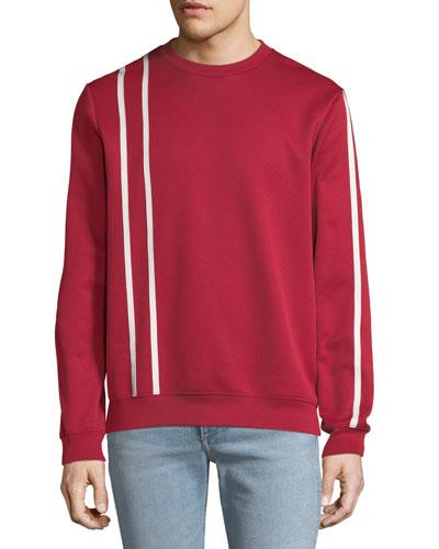 Men's Sport Striped Sweatshirt