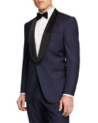 BOSS Men's Two-Tone Shawl-Collar Tuxedo Suit