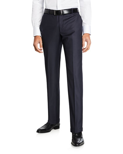 Men's Traveler Wool Dress Trousers