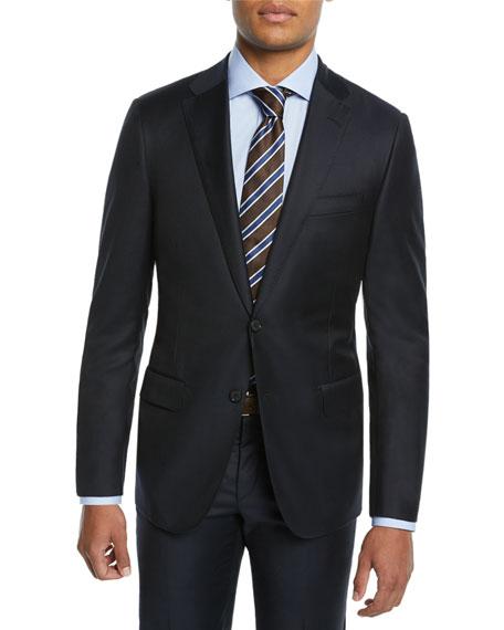 Hickey Freeman Men's Two-Piece Tasmanian Suit