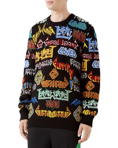 89cd4ff88ea7cb Intarsia Knit Sweater