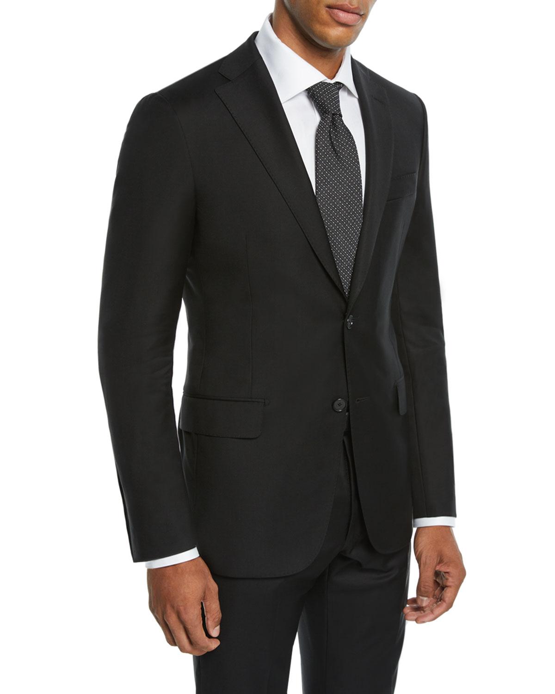 Men's Tasmanian Solid Two-Piece Suit