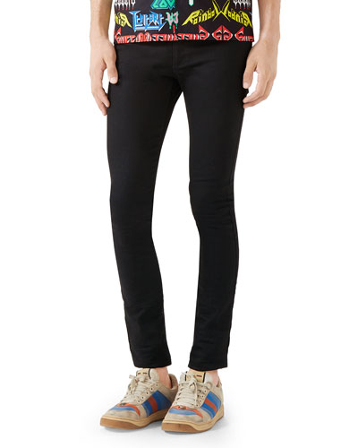 Men's 5-Pocket Skinny Jeans
