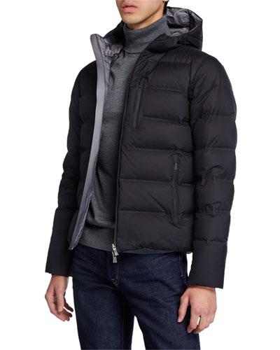 Men's Laminar Hooded Puffer Jacket