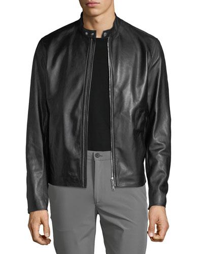 Men's Benji Wynwood Leather Jacket