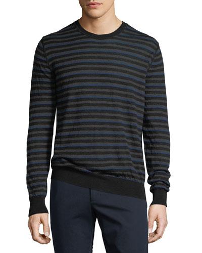Men's Wool Crew Sweater
