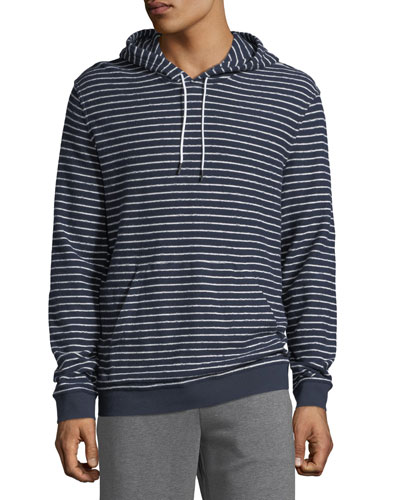 Men's Texture Stripe Hoodie