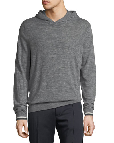 Men's Tipped Pullover Hoodie