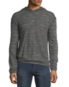 John Varvatos Star USA Men's Slub Terry Hoodie