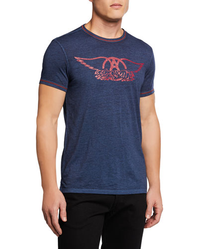Men's Aerosmith Logo T-Shirt