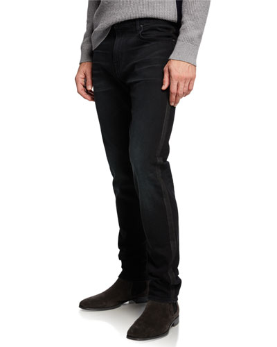 Men's Adrien Envy Stripe Denim Jeans