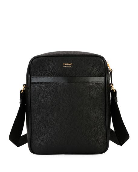 TOM FORD Men's Leather Crossbody Bag