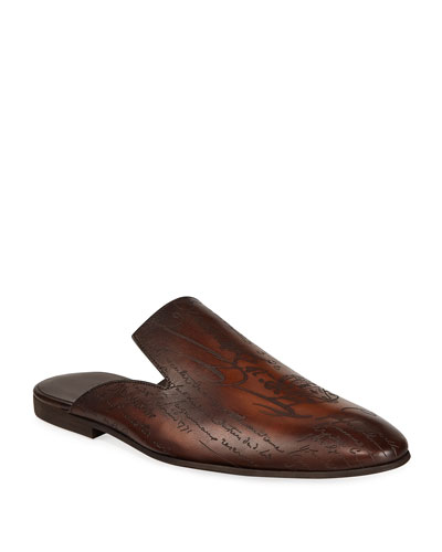 Men's Cyrus Oman Calf Leather Slipper