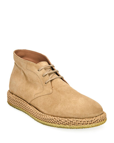 Men's Alpes Suede Chukka Boots