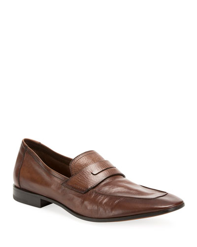 Men's Lorenzo Rimini Kangaroo Leather Loafer