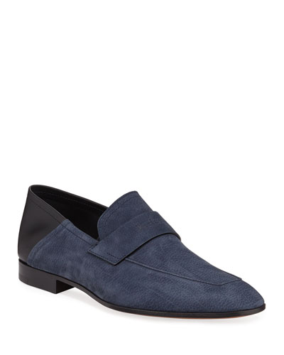 Men's Lorenzo Rimini Grained Nubuck Loafer