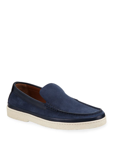 Men's Oasi Calf Suede Loafers