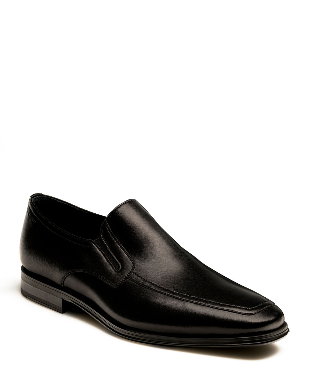 MAGNANNI Men'S Antonio Leather Loafers in Black