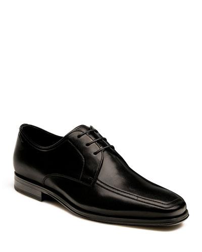 Men's Antonio Leather Lace-Up Oxfords