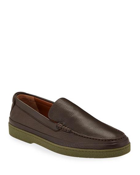 Ermenegildo Zegna Men's Oasi Soft Loafers