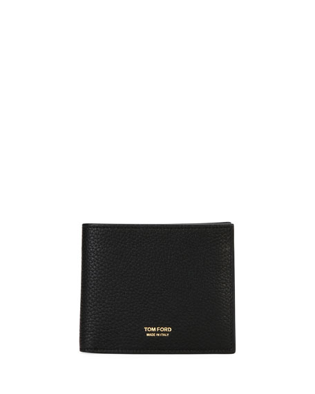 TOM FORD Men's Leather Bi-Fold Wallet