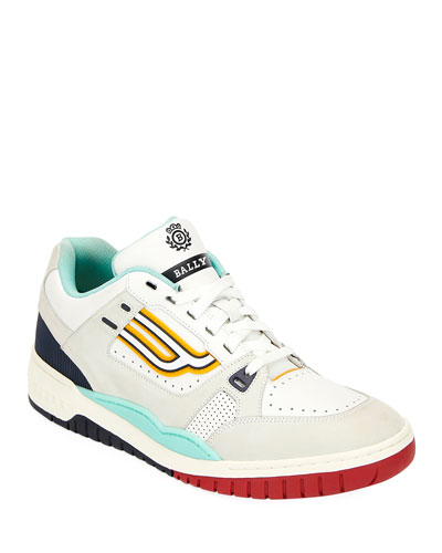 Men's Kuba Retro Leather Sneakers