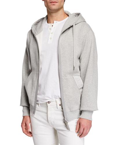 8158c187 Quick Look. TOM FORD · Men's Garment Dyed Hoodie Sweatshirt, Gray