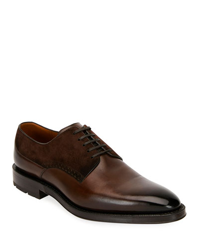 cb594d3cf4c Quick Look. Bally · Men's Badux Injected Leather Lace-Up Derby Shoes