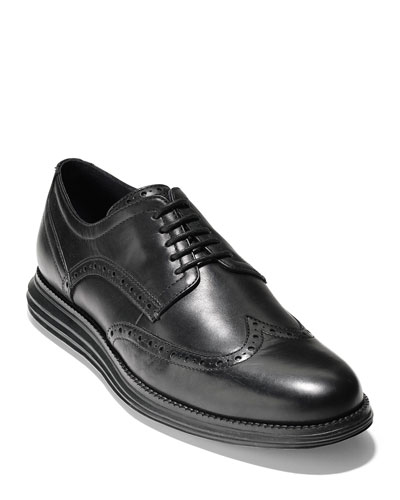 Men's Original Grand Leather Wing-Tip Oxfords