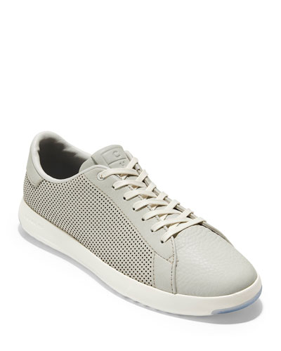 Men's GrandPro Perforated Leather Tennis Sneakers