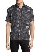Culturata Men's Lightweight Breathable Shirt