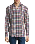 Culturata Men's Extra Soft Plaid Shirt