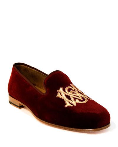 Men's Prince McPaul Velvet Loafers